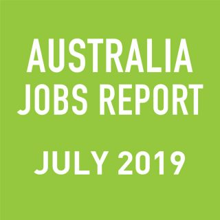 PeopleScout Australia Jobs Report Analysis – July 2019
