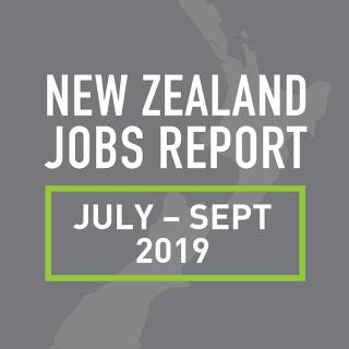 PeopleScout New Zealand Jobs Report Analysis — September Quarter 2019