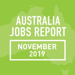 PeopleScout Australia Jobs Report Analysis – November 2019