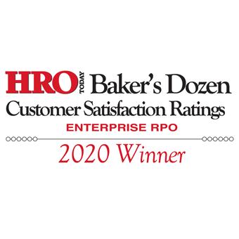 2020 HRO Today RPO Baker's Dozen
