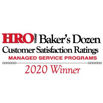 2020 HRO Today MSP Baker's Dozen